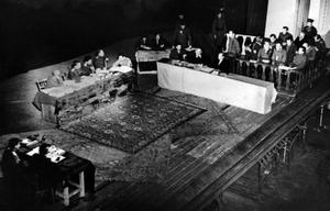 1947, Україна, Сталіно. Відкритий судовий процес над німецькими загарбниками.
